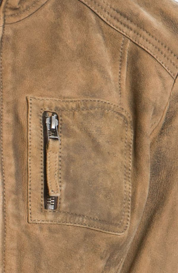 Alternate Image 3  - Buffalo by David Bitton Distressed Leather Jacket (Online Only)