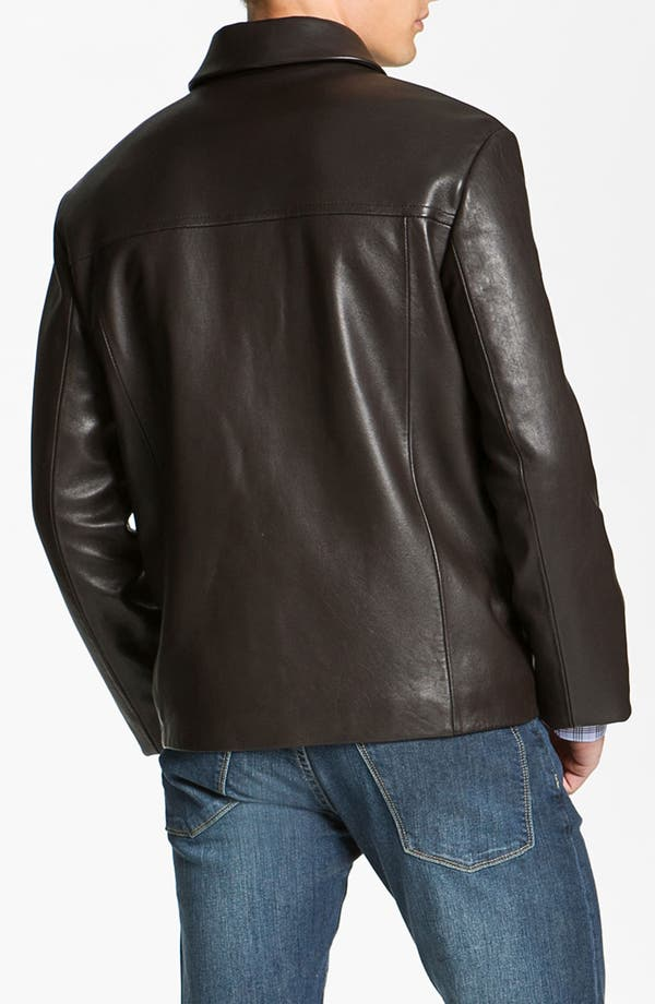 Alternate Image 2  - Cole Haan Leather Jacket (Online Exclusive)