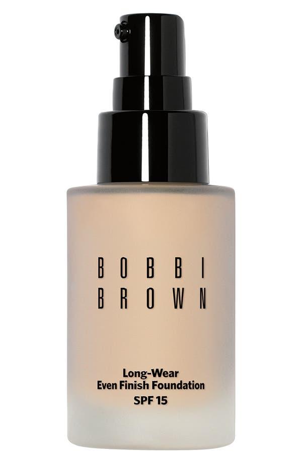 Alternate Image 1 Selected - Bobbi Brown Long-Wear Even Finish SPF 15 Foundation