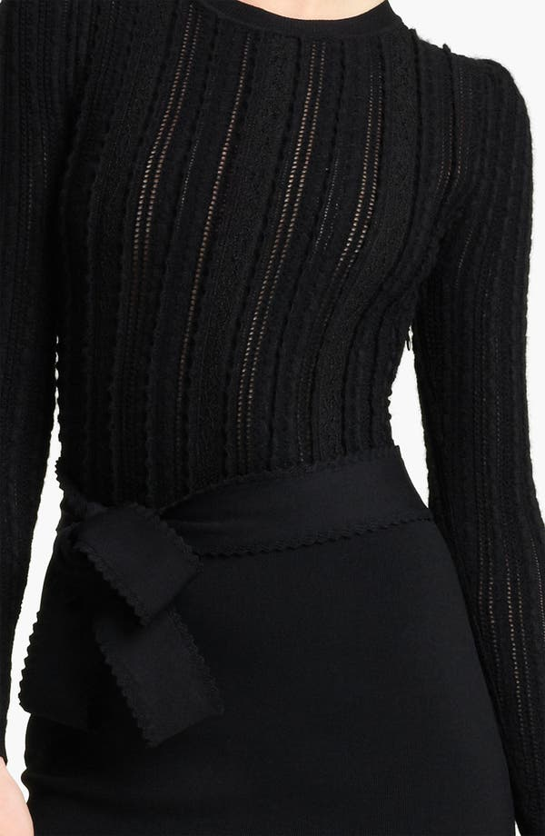 Alternate Image 3  - Valentino Bow Detail Stretch Knit Dress