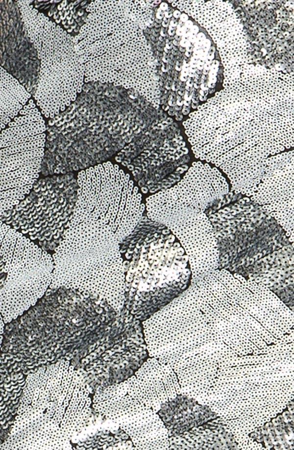 Alternate Image 3  - Freehug Sequin Miniskirt (Juniors)
