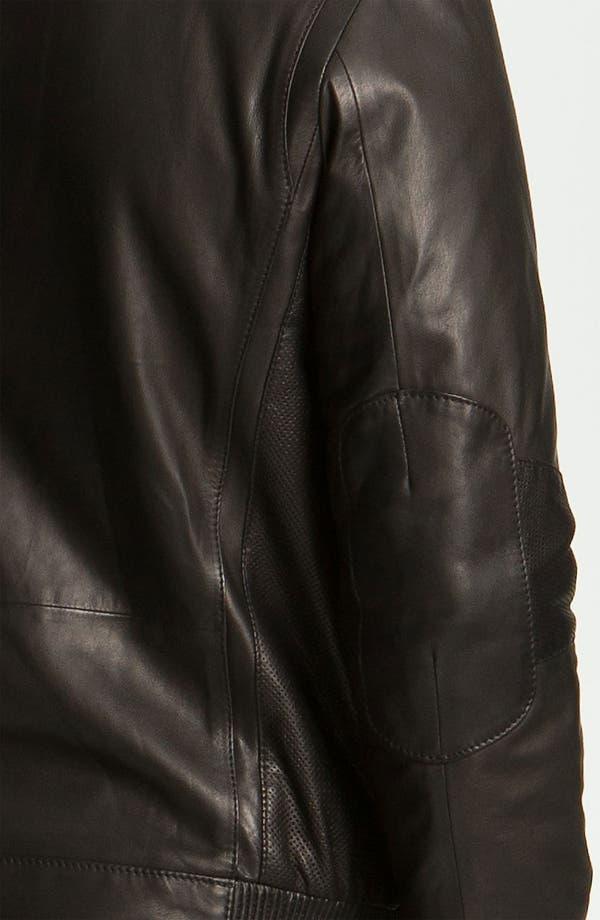 Alternate Image 3  - BOSS Black 'Nekun' Leather Jacket