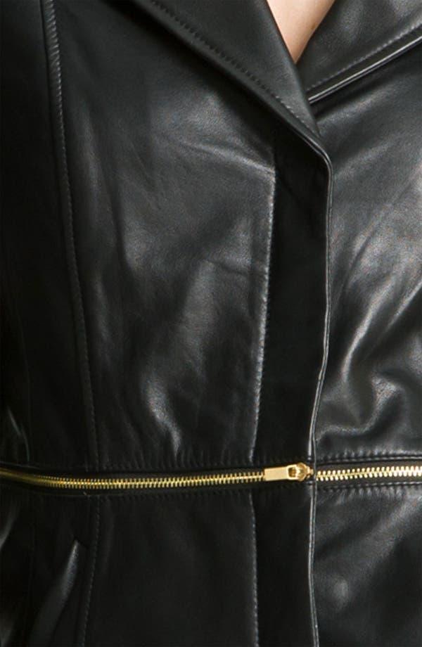 Alternate Image 3  - Classiques Entier® 'Brenna' Leather Jacket