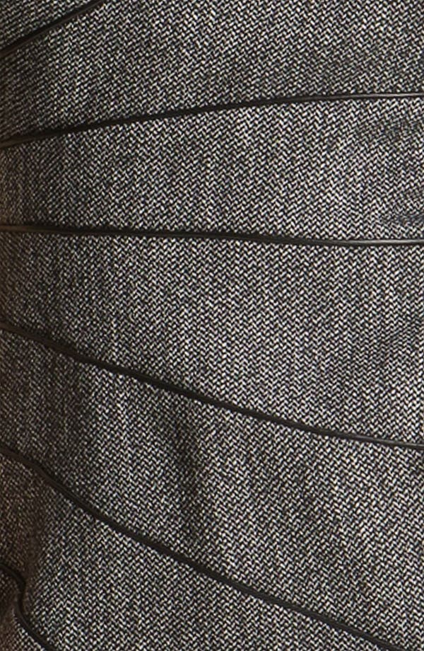 Alternate Image 3  - Black Halo Piping Detail Tweed Sheath Dress