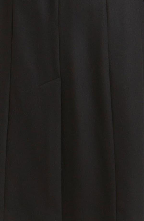 Alternate Image 3  - George Simonton Couture Genuine Fox Fur Trim Wrap Coat