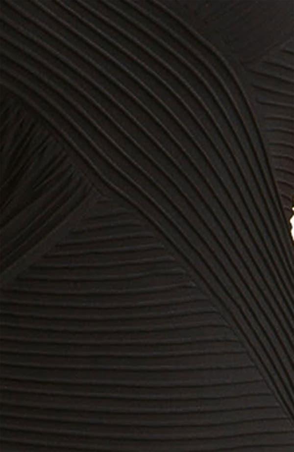 Alternate Image 3  - Calvin Klein Pleat Panel Jersey Sheath Dress (Plus)