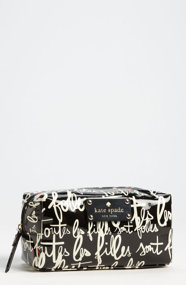 Main Image - kate spade new york 'garance doré - davie' cosmetics case