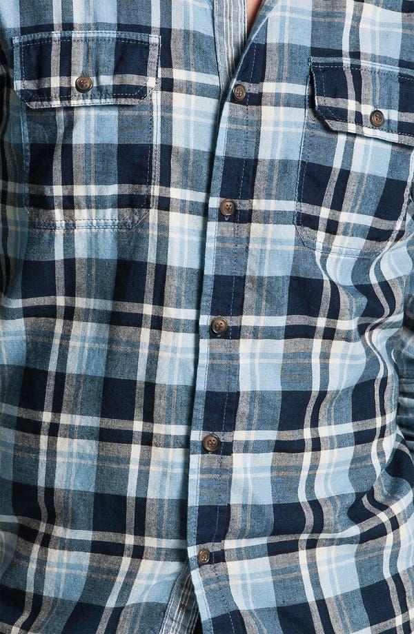 Alternate Image 3  - Just A Cheap Shirt Long Sleeve Woven Shirt