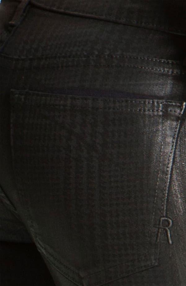Alternate Image 3  - Rich & Skinny 'Legacy' Coated Skinny Jeans (Oil Plaid)