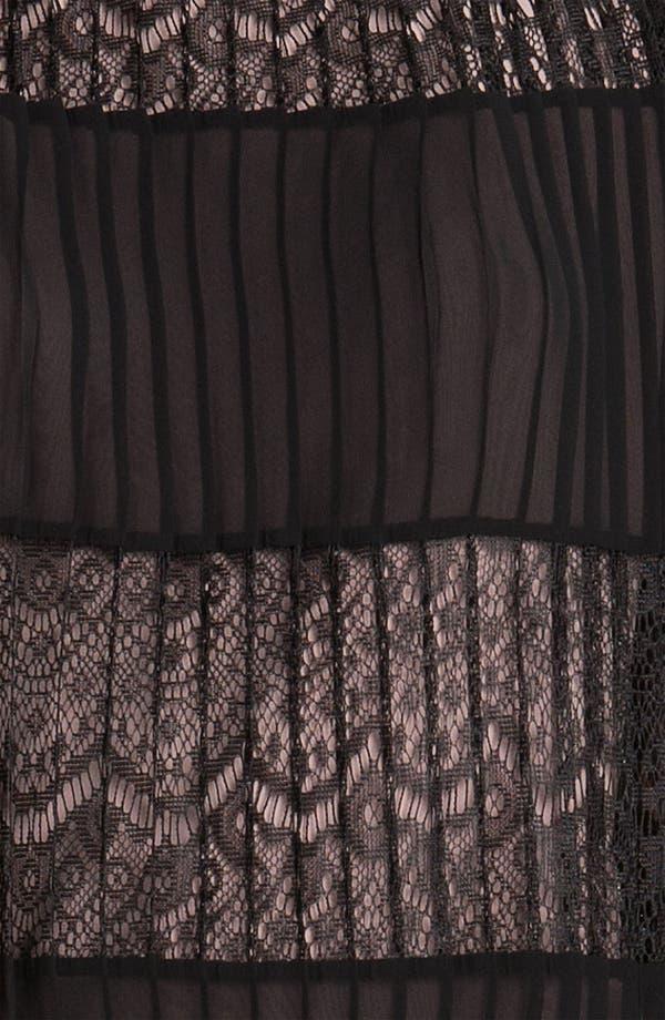 Alternate Image 3  - Max & Cleo 'Sabrina' Chiffon & Lace Dress