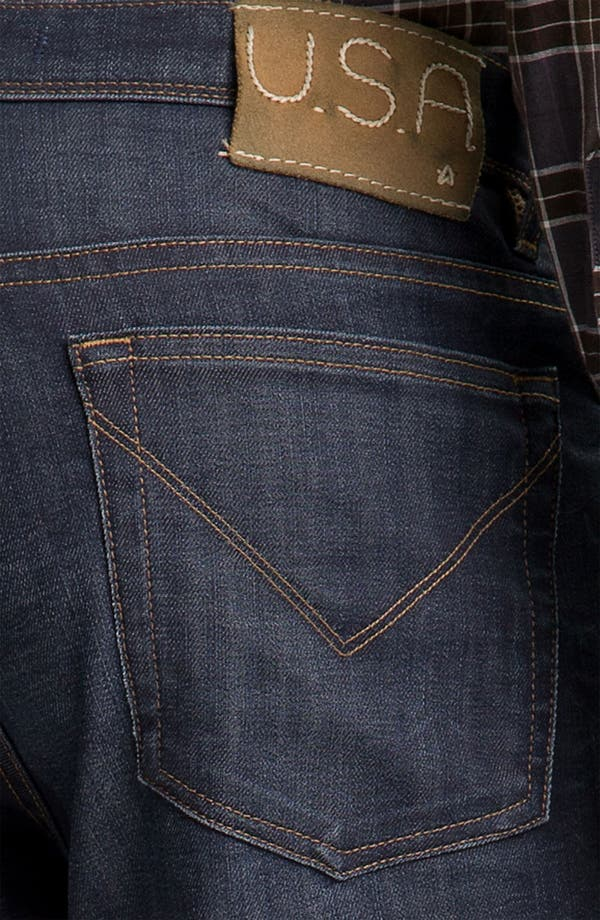 Alternate Image 4  - John Varvatos 'Authentic' Straight Leg Jeans (River Blue)