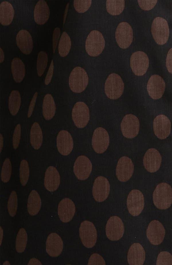 Alternate Image 3  - Foxcroft Dotted Long Sleeve Wrinkle Free Shaped Shirt (Plus)