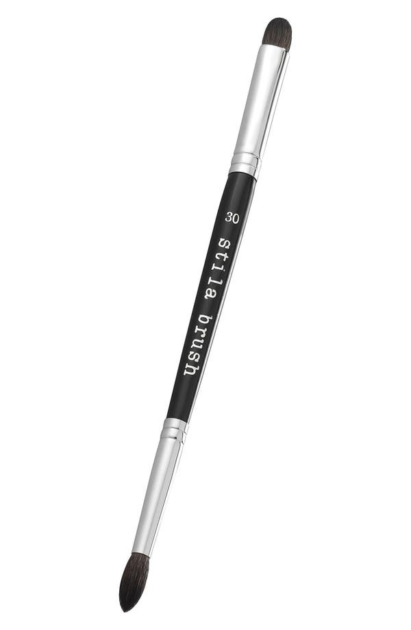 Alternate Image 1 Selected - stila #30 double ended eyeshadow brush