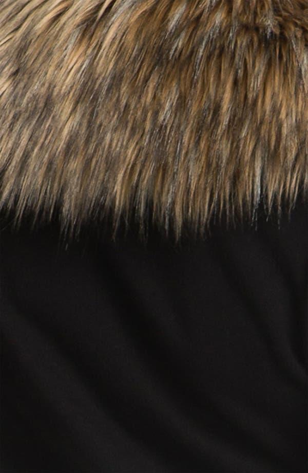 Alternate Image 3  - Pink Lotus 'Open Road' Faux Fur Trim Jacket