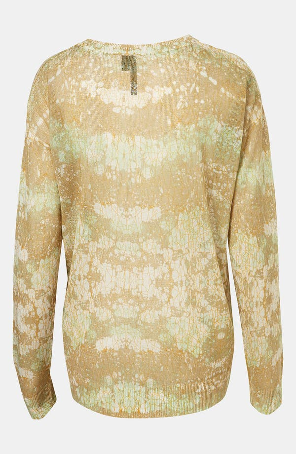 Alternate Image 2  - Topshop Boutique Marble Camo Sweater