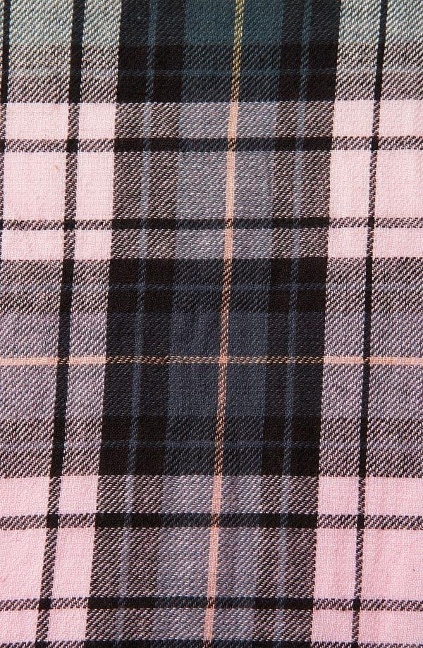 Alternate Image 3  - Topshop Dip Dye Cutout Plaid Shirt