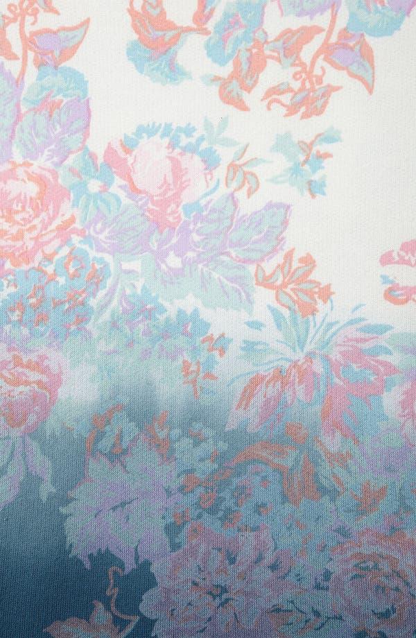 Alternate Image 3  - Topshop Dip Dye Floral Studded Sweatshirt