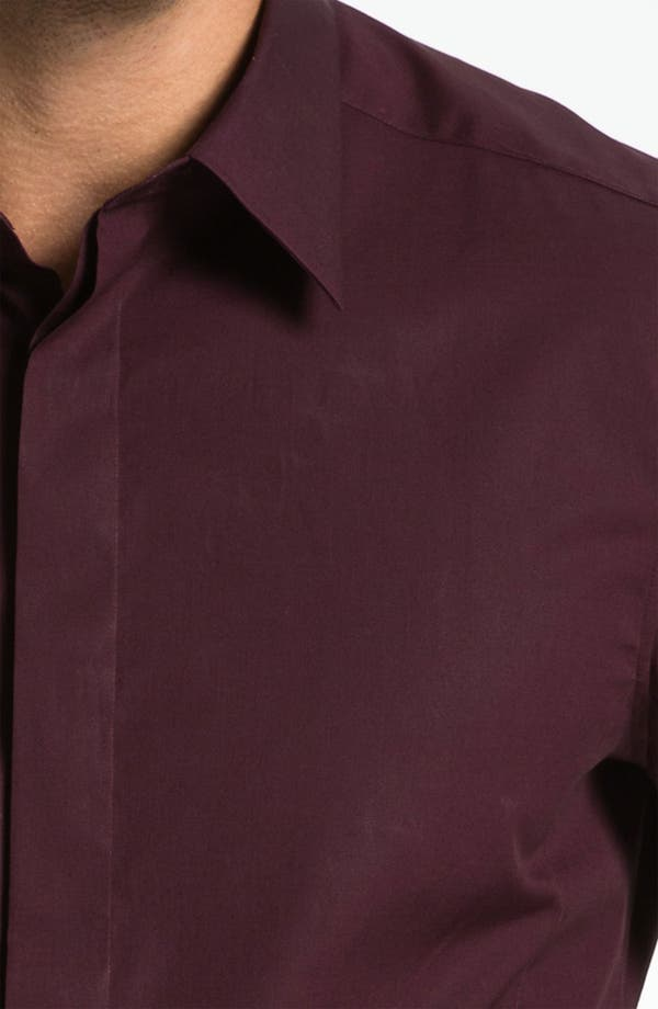 Alternate Image 3  - Z Zegna Trim Fit Dress Shirt