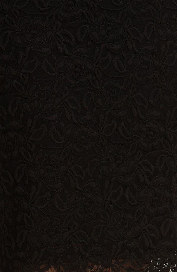 Alternate Image 3  - Bobeau Lace Midi Skirt