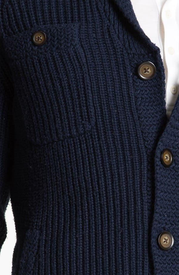 Alternate Image 3  - Original Penguin Shawl Collar Cardigan