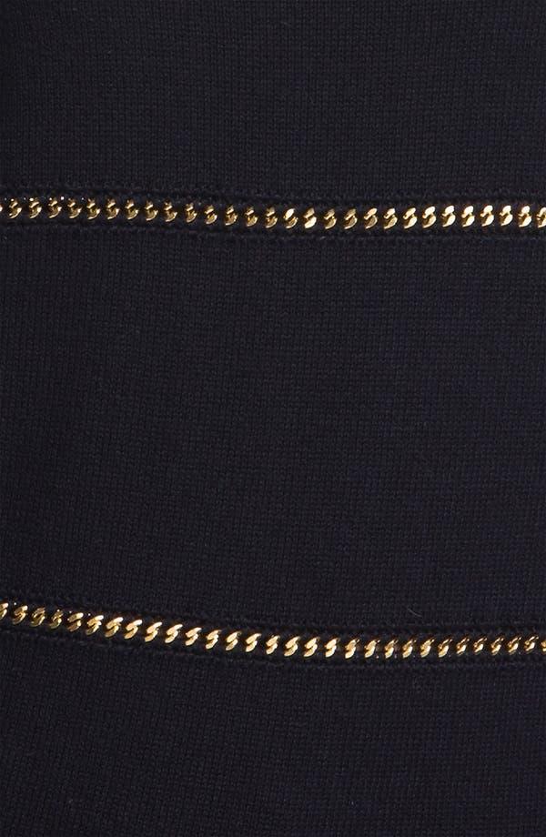 Alternate Image 3  - MICHAEL Michael Kors Chain Stripe Sweater