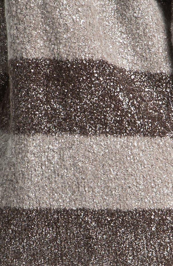 Alternate Image 3  - Hinge® Metallic Bouclé Cardigan