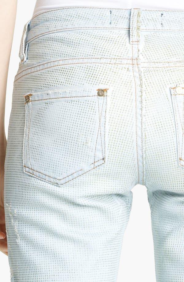 Alternate Image 4  - Roberto Cavalli Crystal Encrusted Skinny Jeans