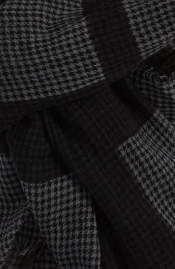 Alternate Image 2  - Burberry Houndstooth Scarf