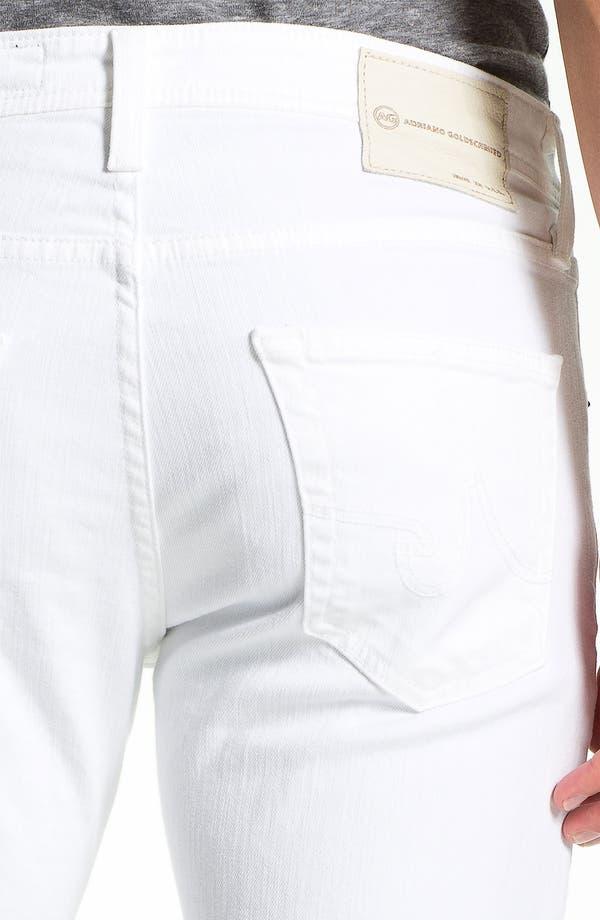 Alternate Image 4  - AG Jeans 'Matchbox' Slim Fit Jeans (White)