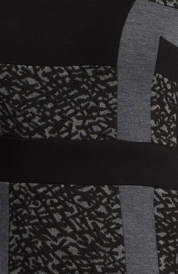 Alternate Image 3  - Maggy London Graphic Print Ponte Knit Sheath Dress