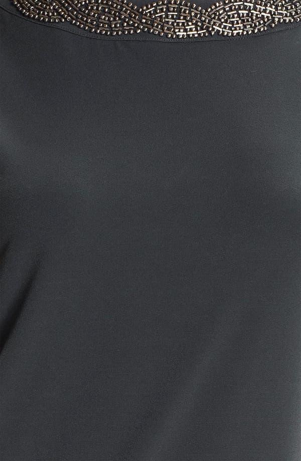 Alternate Image 3  - Calvin Klein Draped Back Jersey Shift Dress