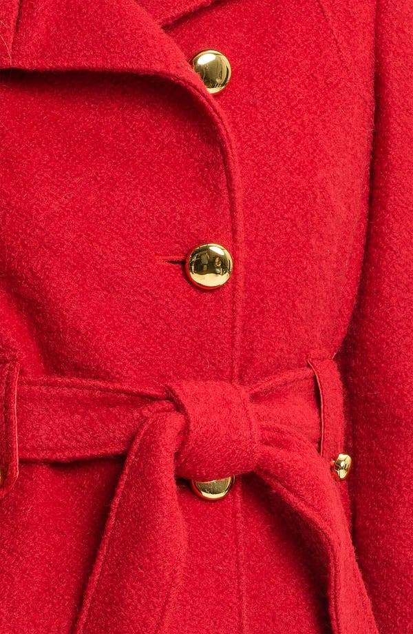 Alternate Image 3  - bebe Cutaway Front Coat