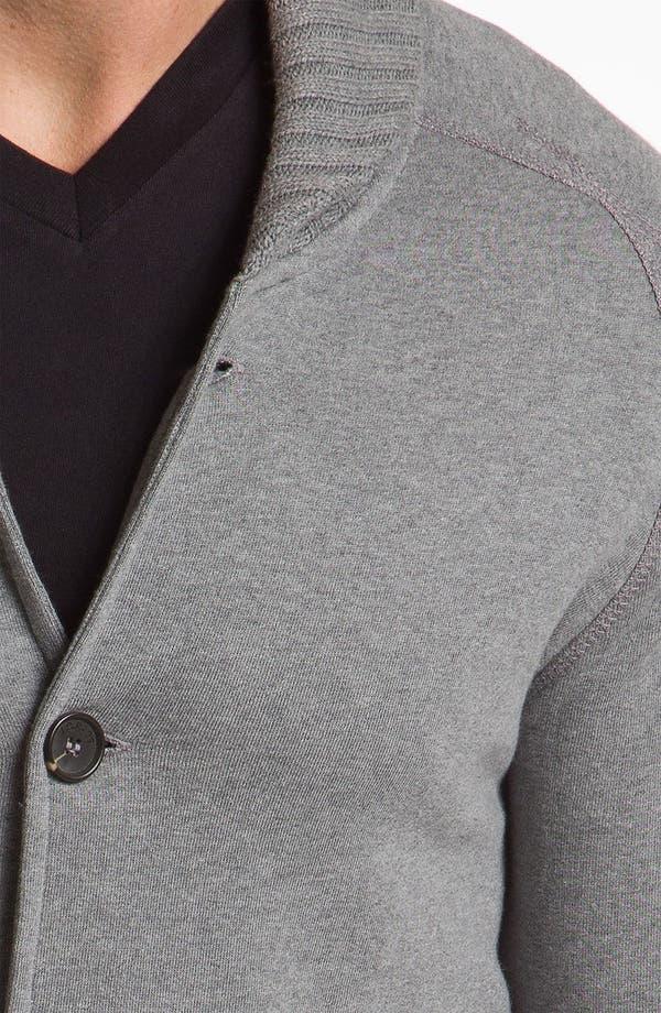 Alternate Image 3  - J.C. Rags Extra Trim Fit Shawl Collar Cardigan