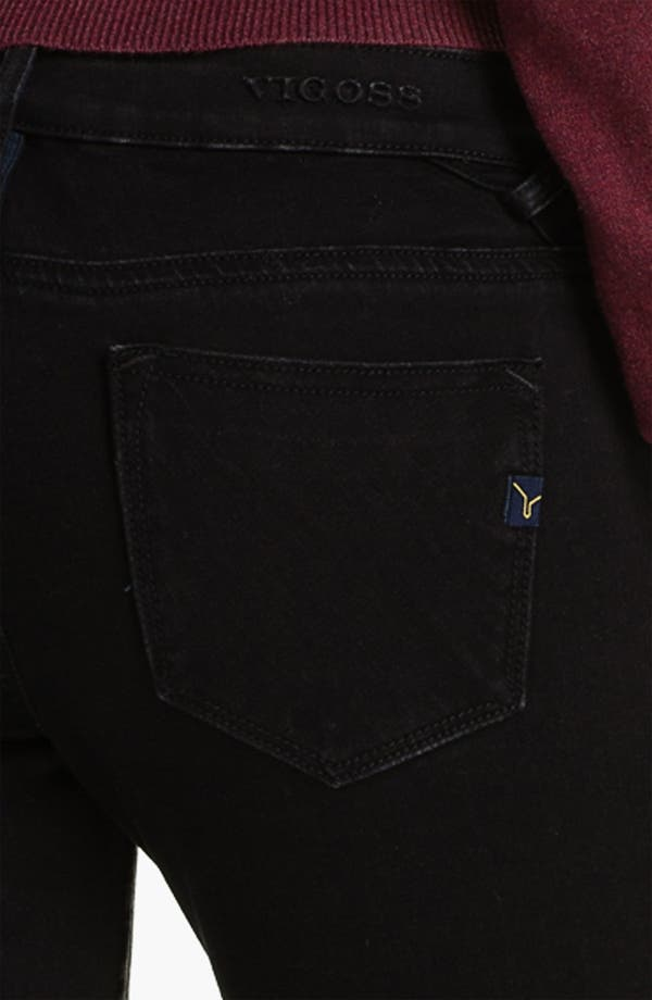 Alternate Image 3  - Vigoss Print Skinny Jeans (Juniors)