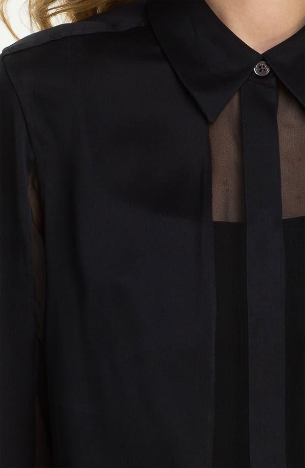 Alternate Image 3  - Equipment 'Earl' Paneled Silk Shirt