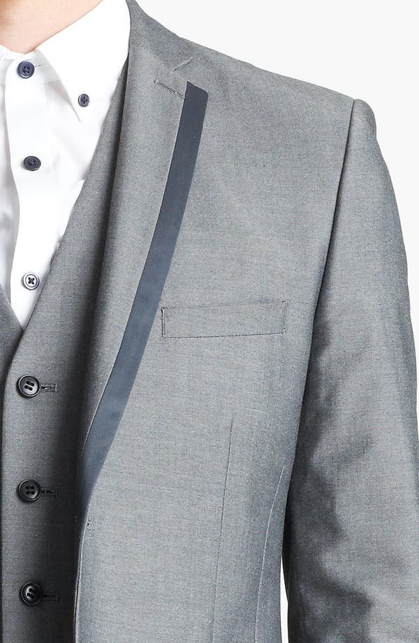 Alternate Image 3  - Topman 'Nottingham' Skinny Suit Jacket