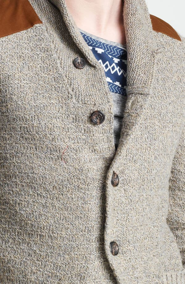 Alternate Image 3  - Topman 'Borg' Shawl Collar Cardigan