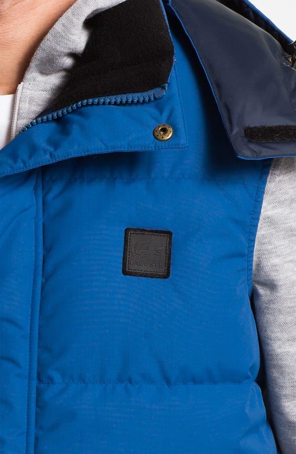 Alternate Image 3  - Lacoste Zip Hooded Vest