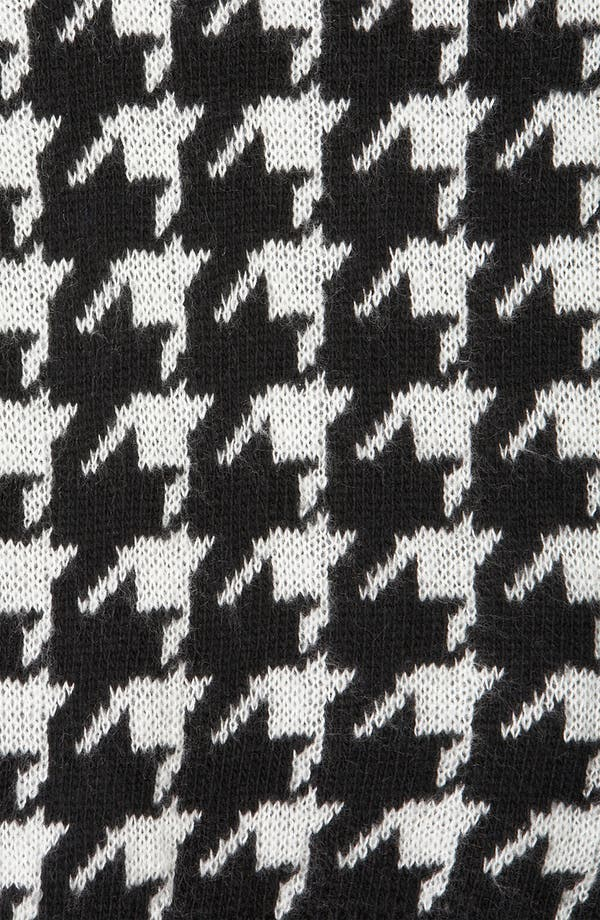 Alternate Image 3  - Topshop 'Houndstooth' Sweater