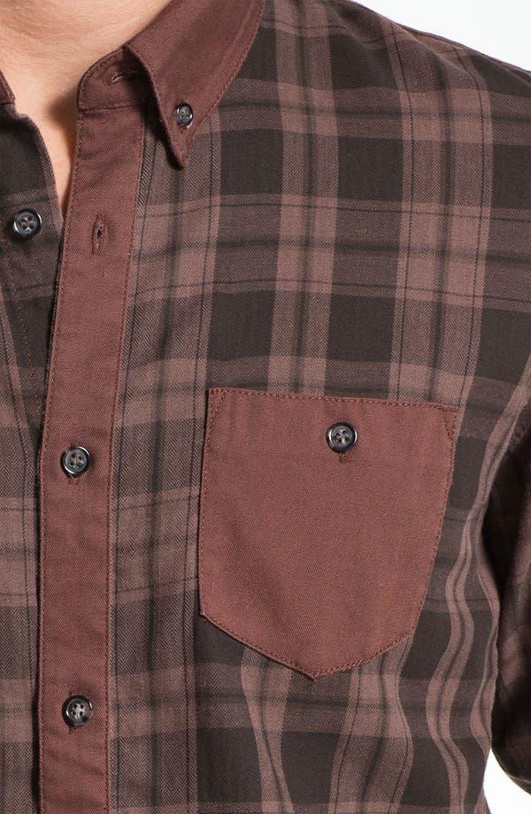 Alternate Image 3  - 55DSL 'Stenperl' Plaid Woven Shirt