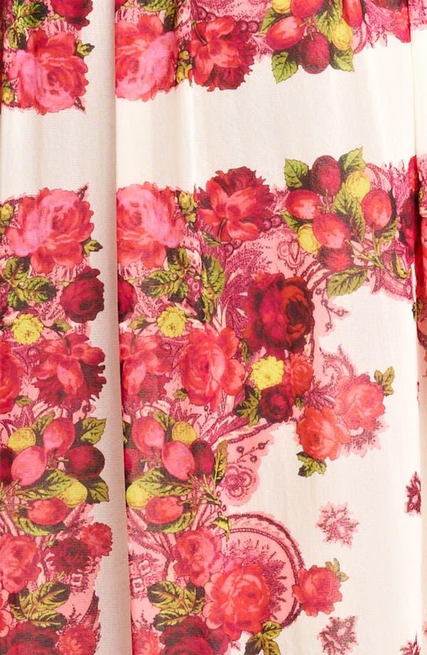 Alternate Image 3  - Jean Paul Gaultier Fuzzi Rose Print Tulle Maxi Dress