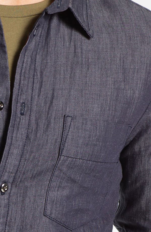 Alternate Image 3  - MARC BY MARC JACOBS 'Leo' Trim Fit Chambray Shirt