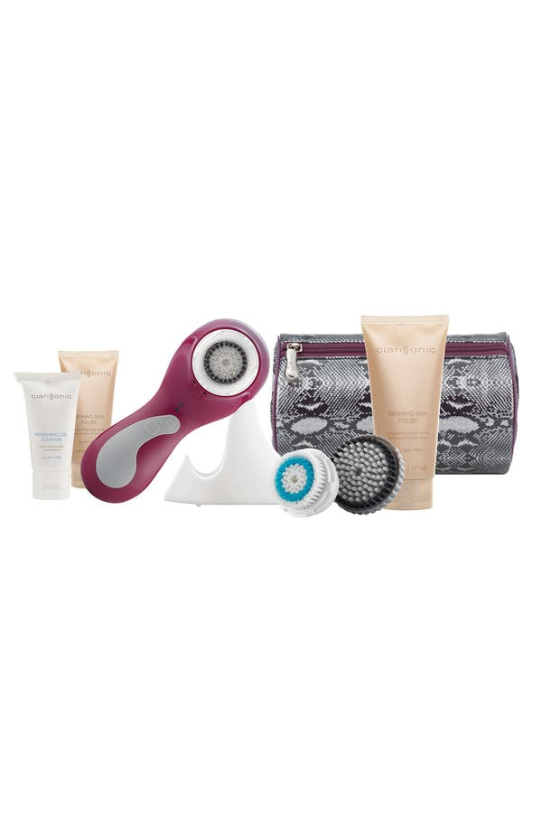 Alternate Image 1 Selected - CLARISONIC® 'PLUS - Glossy Bordeaux' Sonic Skin Cleansing System for Face & Body ($280 Value)