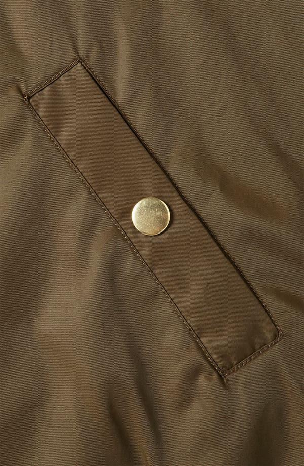 Alternate Image 3  - Topshop Faux Fur Trim Bomber Jacket