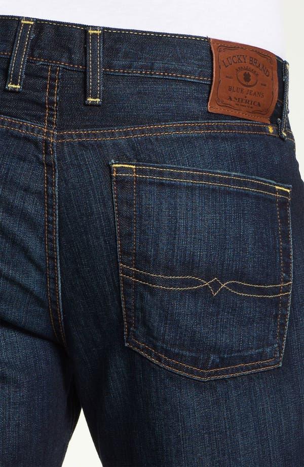 Alternate Image 4  - Lucky Brand '361 Vintage' Straight Leg Jeans (Ol' Oklahoma)