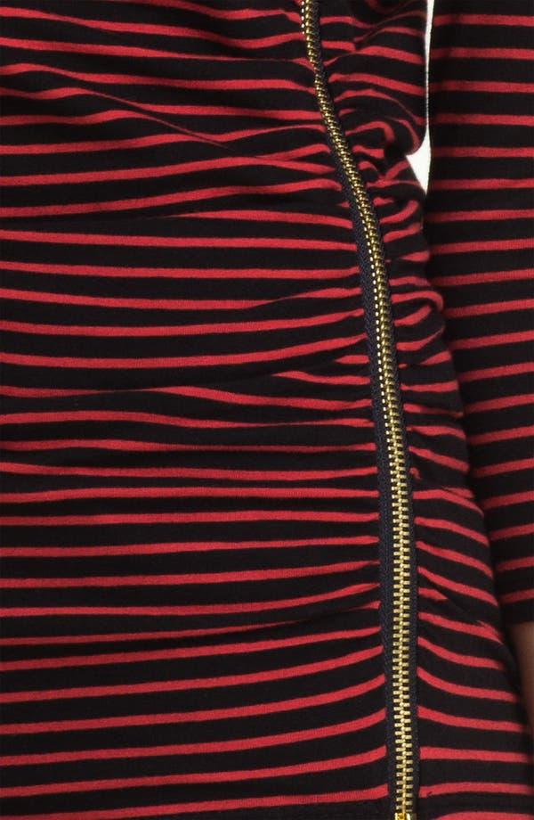 Alternate Image 3  - MICHAEL Michael Kors Ruched Side Zip Tee