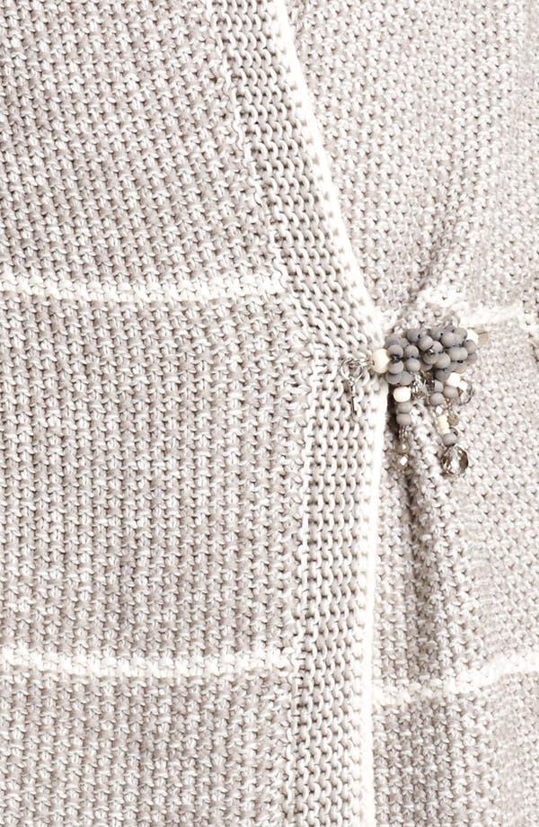 Alternate Image 3  - Fabiana Filippi Stripe Crochet Cardigan