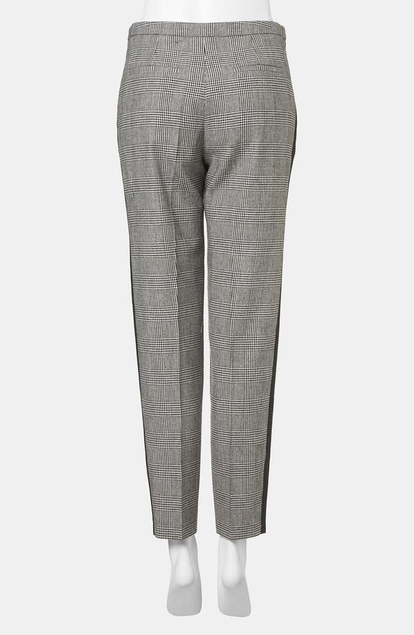 Alternate Image 2  - Topshop Houndstooth Plaid Tapered Pants