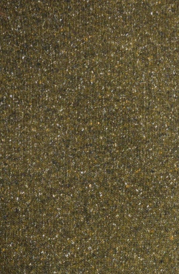 Alternate Image 3  - Burberry London Belted Tweed Turtleneck