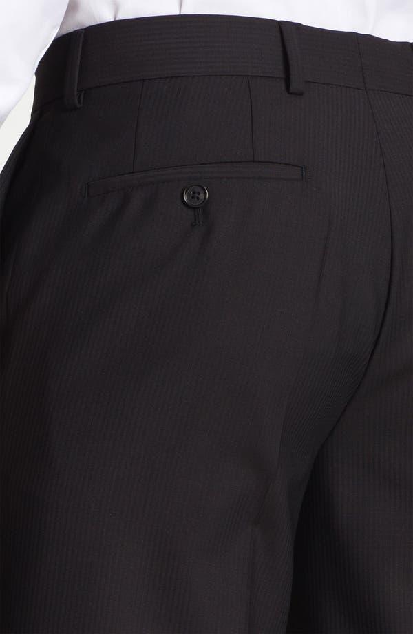 Alternate Image 3  - BOSS Black 'James Brown' Stripe Wool Trousers